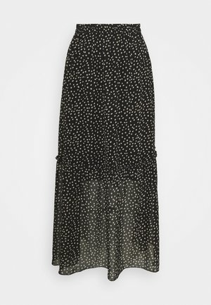 VALERIE SKIRT - Maxi skirt - black