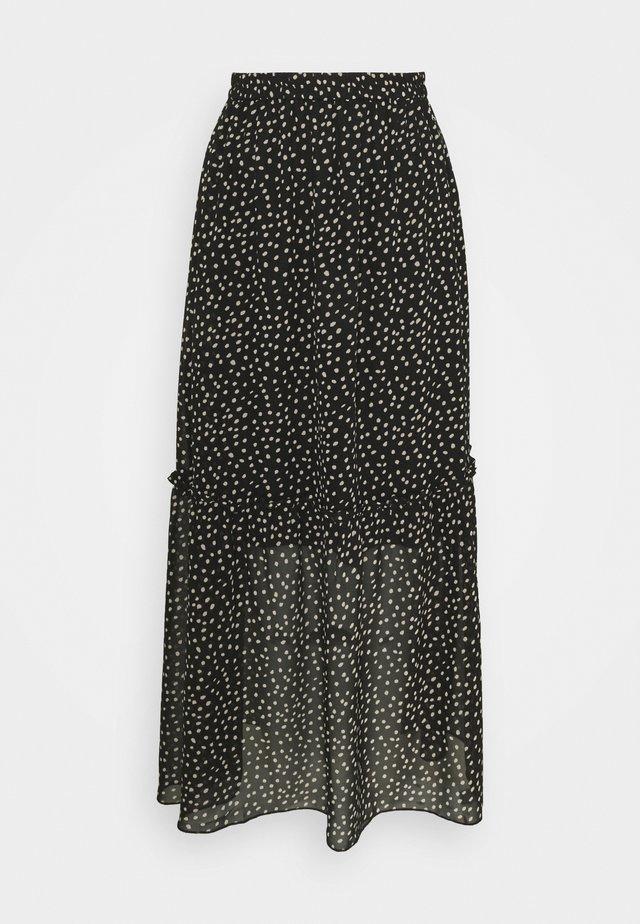 VALERIE SKIRT - Jupe longue - black