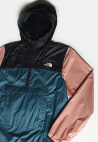 The North Face - M FANORAK - Windbreaker - mallrdblu/avtrnavy/pnkcly