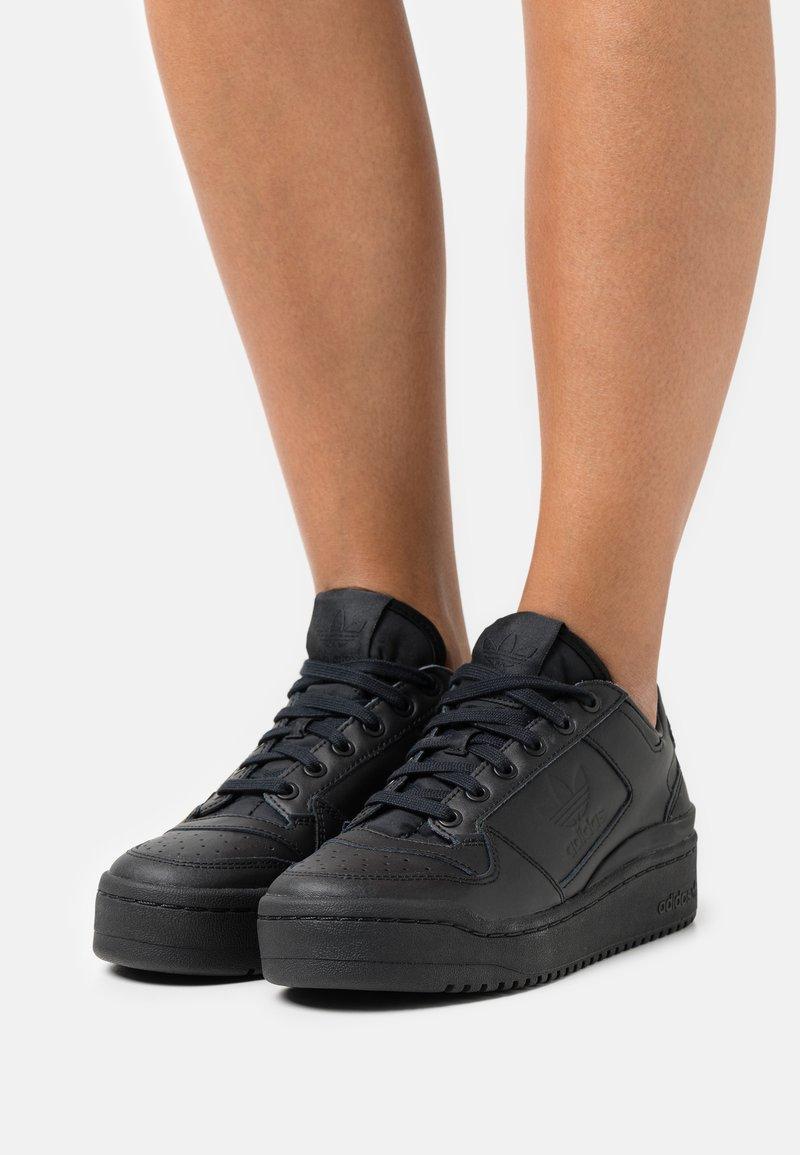 adidas Originals - FORUM BOLD - Trainers - core black/footwear white