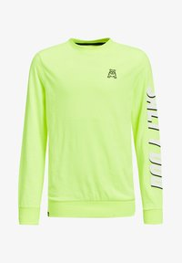 WE Fashion - Langærmede T-shirts - bright yellow - 0
