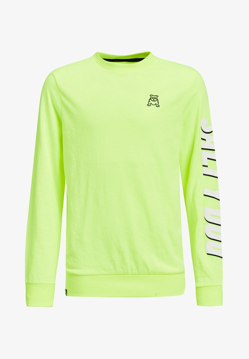 WE Fashion - Langærmede T-shirts - bright yellow