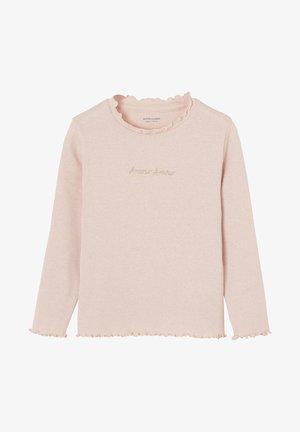 Long sleeved top - rosa meliert