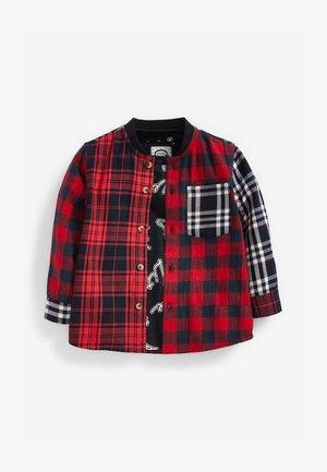 CHECK T-SHIRT SET (3MTHS-7YRS) - Shirt - red