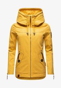 Navahoo - Light jacket - yellow mustard dots - 0