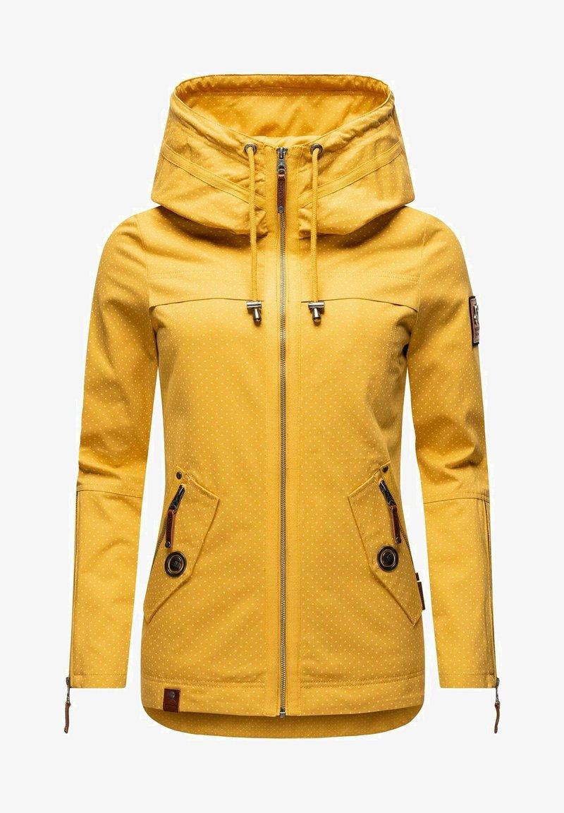 Navahoo - Light jacket - yellow mustard dots