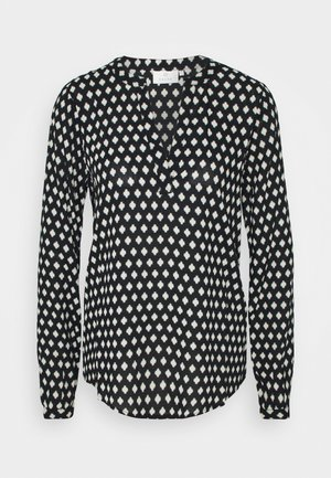 KALEAH TILLY BLOUSE - Blouse - black square print