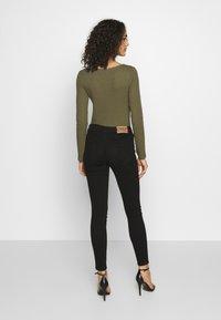 ONLY - ONLMIRINDA BASIC PANT - Jeans Skinny Fit - black - 2