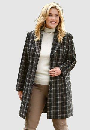 Short coat - schwarz beige