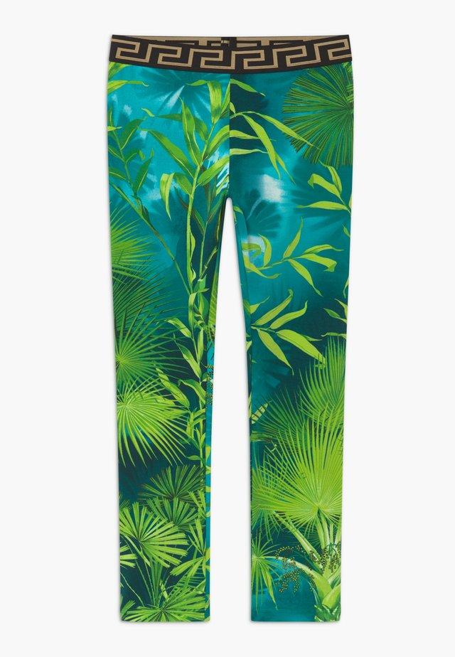 JUNGLE CAPSULE - Leggings - Trousers - verde