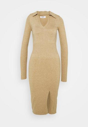 ALBANDY DRESS - Jumper dress - beige