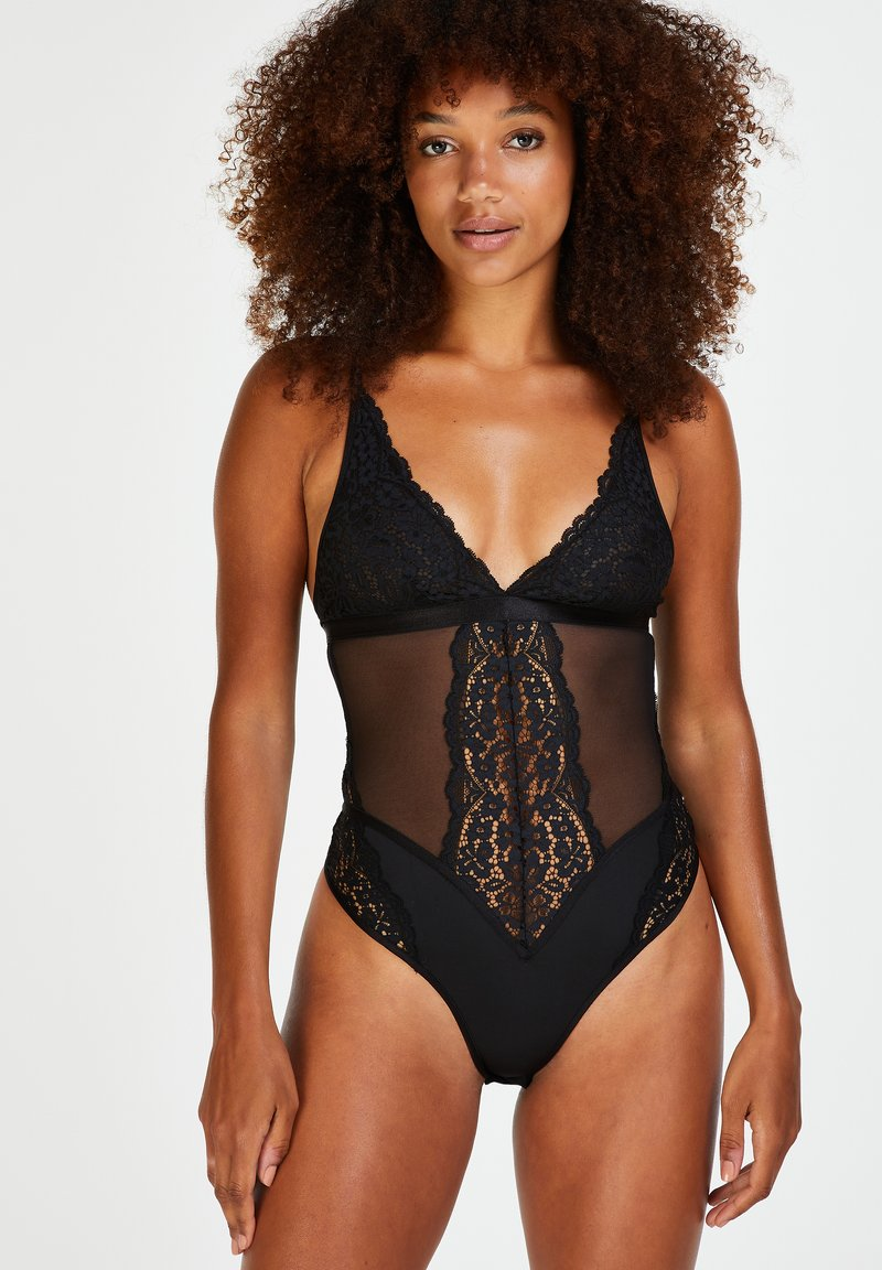 Hunkemöller - Body - black