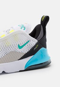 Nike Sportswear - AIR MAX 270 UNISEX - Sneakers laag - white/hyper jade/black/light graphite - 5