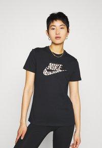Nike Sportswear - TEE - T-shirt print - black - 0
