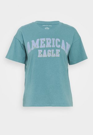 COLOR ON COLOR BRANDED - T-Shirt print - green