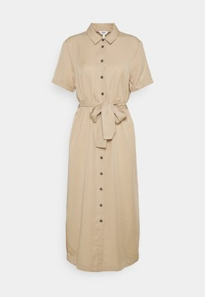 OBJTILDA ISABELLA DRESS  - Skjortekjole - humus