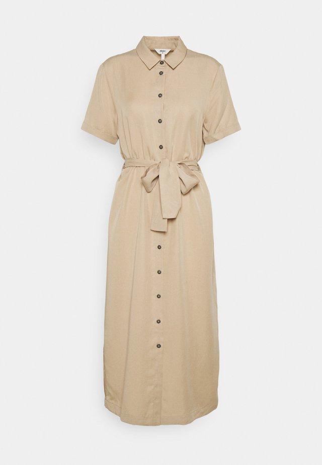 OBJTILDA ISABELLA DRESS  - Shirt dress - humus