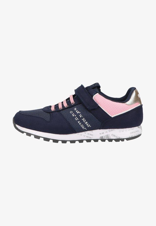 Sneakers laag - atlantic/silver
