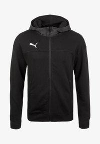 CUP CASUALS KAPUZENJACKE - Sports jacket - black