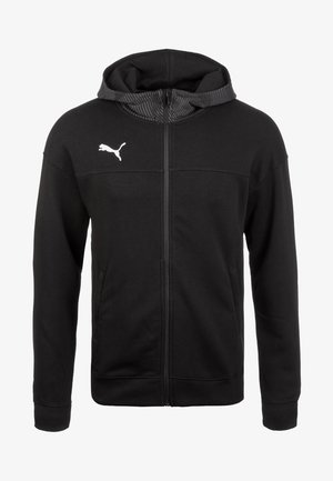 CUP CASUALS KAPUZENJACKE - Sports jacket - black