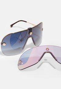 Carrera - UNISEX - Solglasögon - gold/blue - 3