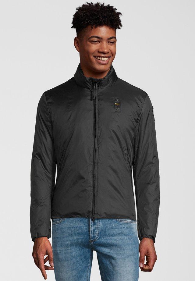 MIT LABEL-BADGE - Light jacket - black