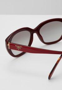 Prada - Sunglasses - red - 4