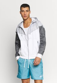 Nike Sportswear - Windbreaker - white/wolf grey/dark grey - 0