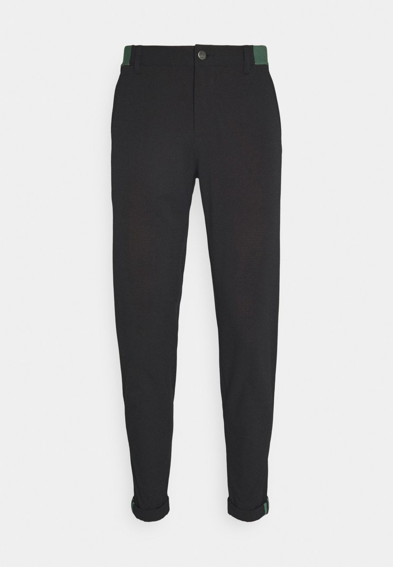 adidas Golf - PIN ROLL PANT - Trousers - black