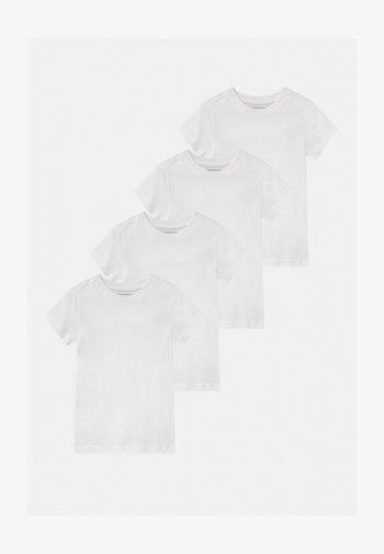 BASIC BOY WINTER 4 PACK - T-shirt basic - snow white