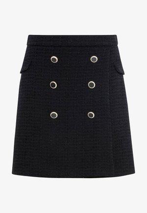Wrap skirt - noir