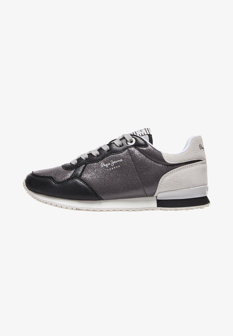 Pepe Jeans - ARCHIE NOON - Šněrovací boty - chrom