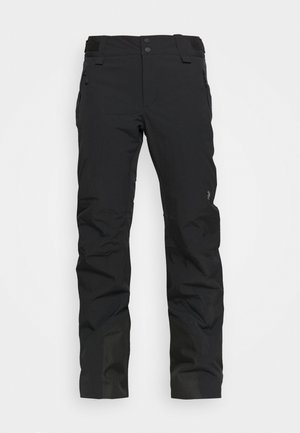 ANIMA PANTS - Snow pants - black