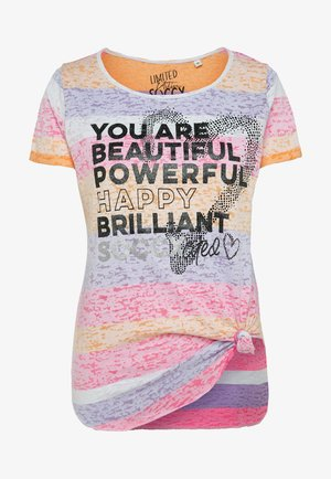 Print T-shirt - multi color
