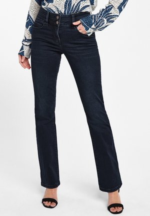 SLIM  - Bootcut jeans - dark blue