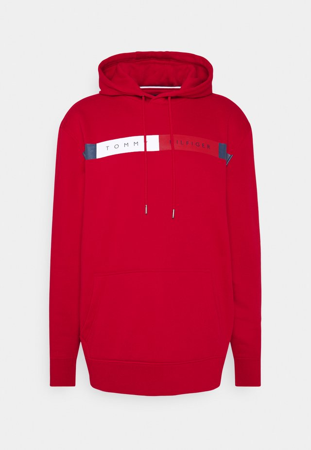 LOGO HOODY - Sweat à capuche - red