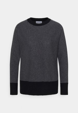 Sweter - dark grey/black