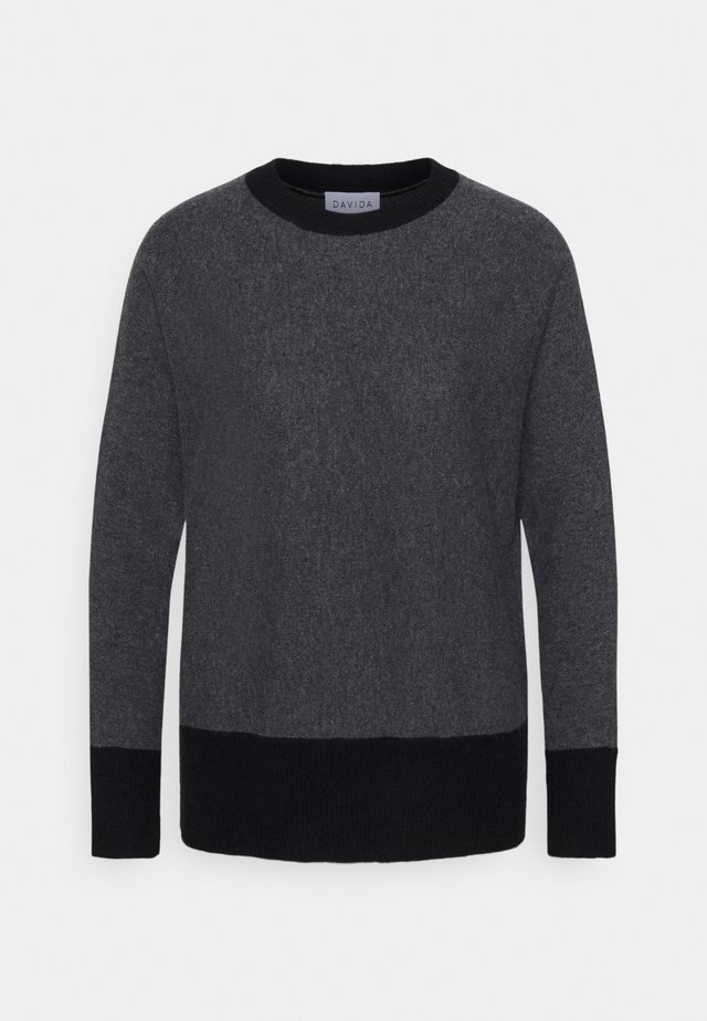 Jumper - dark grey/black