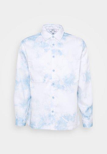 LONG SLEEVE IN TIE DYE UNISEX - Camisa - blue