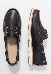 Timberland - CAMDEN FALLS - Boat shoes - navy full grain - 3