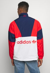 adidas Originals - SAMSTAG SPORT INSPIRED TRACKSUIT JACKET - Windbreaker - red/white - 2