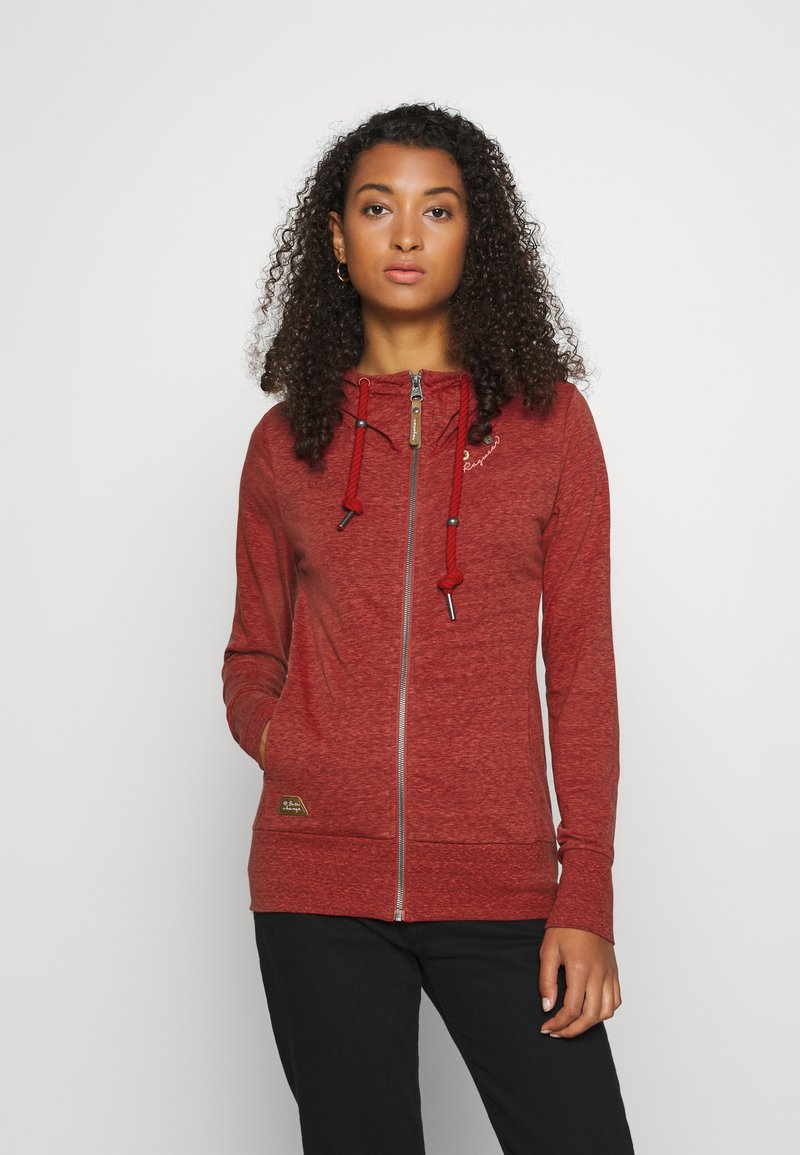 Ragwear - PAYA - Zip-up sweatshirt - red