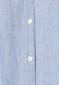by-bar - NOREL PIN STRIPE BLOUSE - Button-down blouse - indi grey - 2