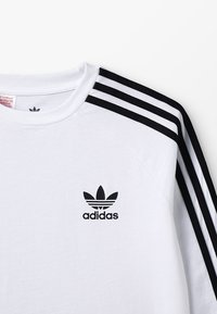 adidas Originals - Long sleeved top - white/black