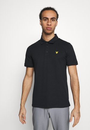 SLEEVE LOGO - Polo - true black
