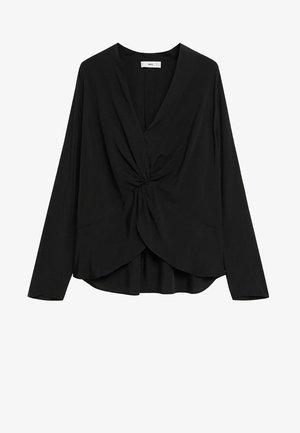 DRAP - Blouse - schwarz