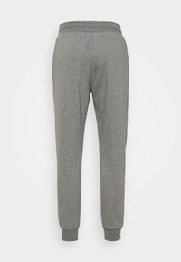 Lyle & Scott - WITH CONTRAST PIPING - Träningsbyxor - mid grey marl - 6