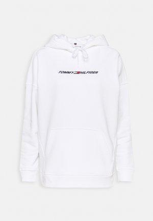 RELAXED GRAPHIC HOODIE - Sweatshirt - optic white