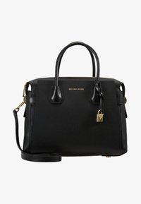 MICHAEL Michael Kors - MERCER BELTED SATCHEL - Handbag - black - 5