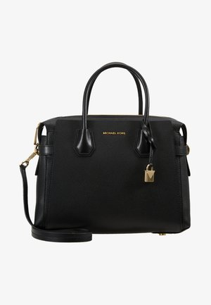 MERCER BELTED SATCHEL - Handbag - black